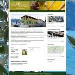 Homepage sito Oleificio Piccoli Produttori