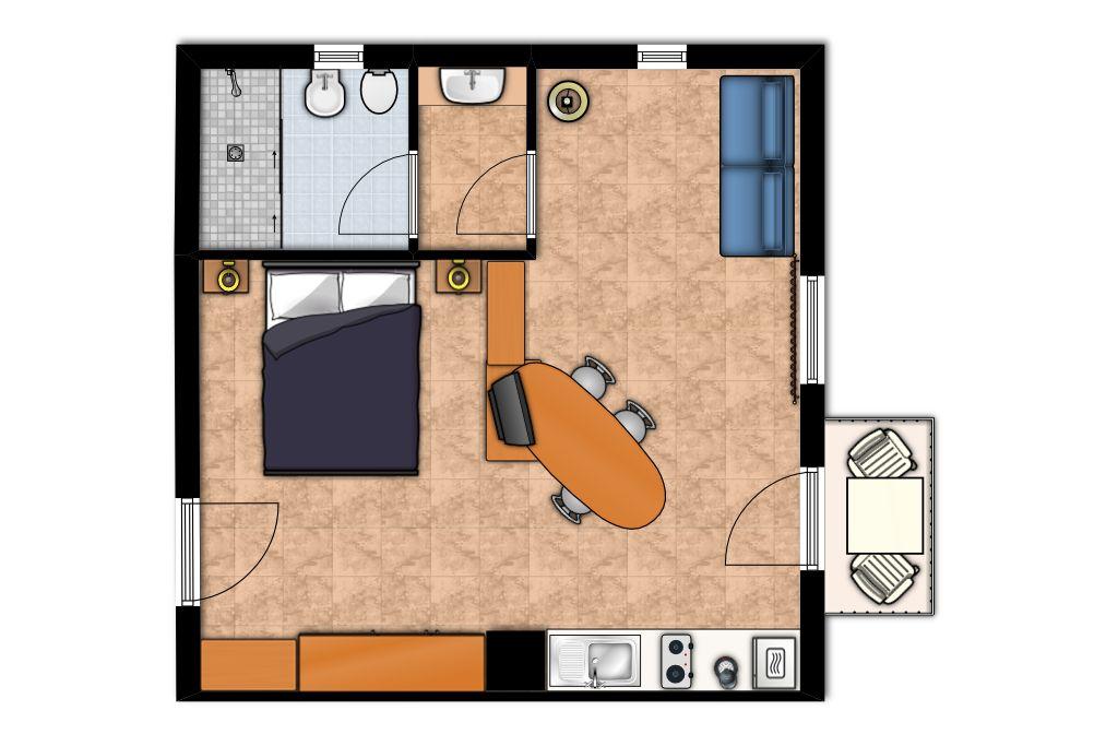 Planimetria appartamento casa fertonani 2 francisco for Planimetria appartamento
